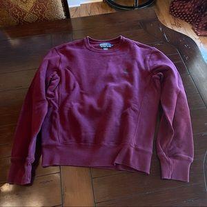Polo purplish maroon Crewneck